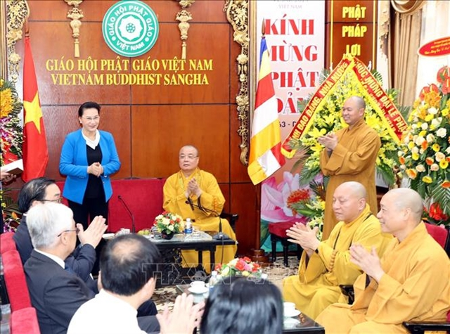 Vesak 2019 helps to promote Việt Nams image: NA Chairwoman