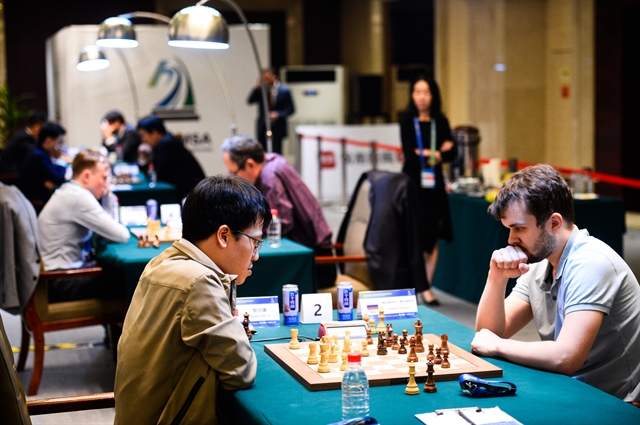 Liêm sits second in chess tourney