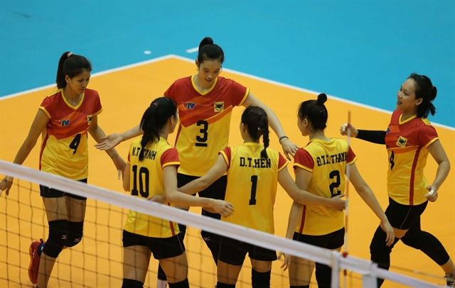 Bình Điền Long An enter semi-finals of intl volleyball event