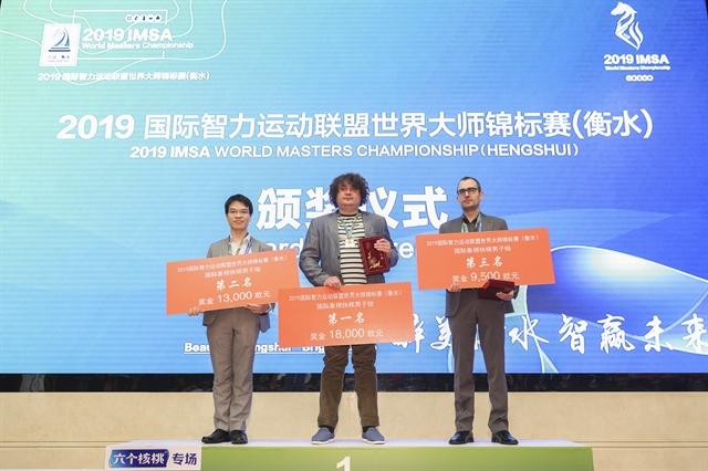 Vietnamese chess masters win silvers