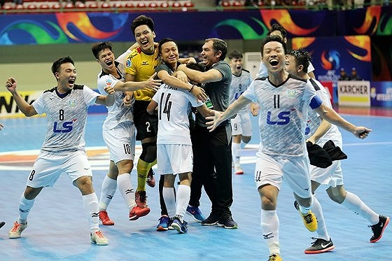 Thái Sơn Nam among title favourites of Asian futsal club champs