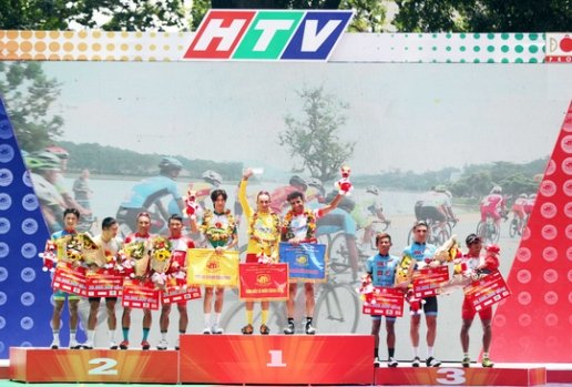 Javier Sarda Perez takes overall win at HCM City cycling event