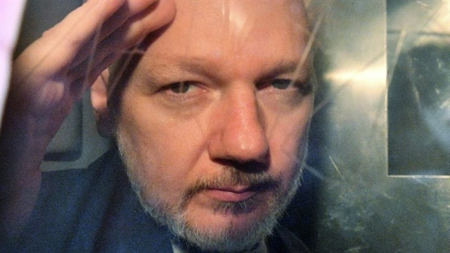 Assange in UK court over US extradition request