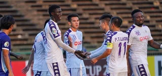 HÀ Nội Bình Dương win in AFC Cup