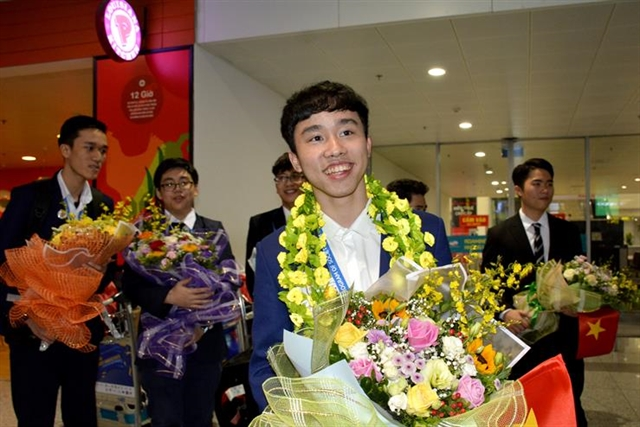 Vietnamese student wins third prize at intl science contest in US