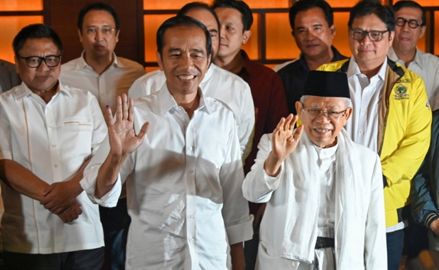Indonesias Joko Widodo wins second term as president