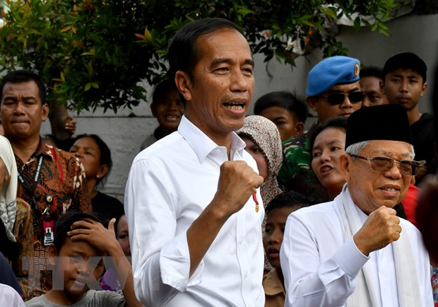 Congratulations to Indonesian leaders on re-election