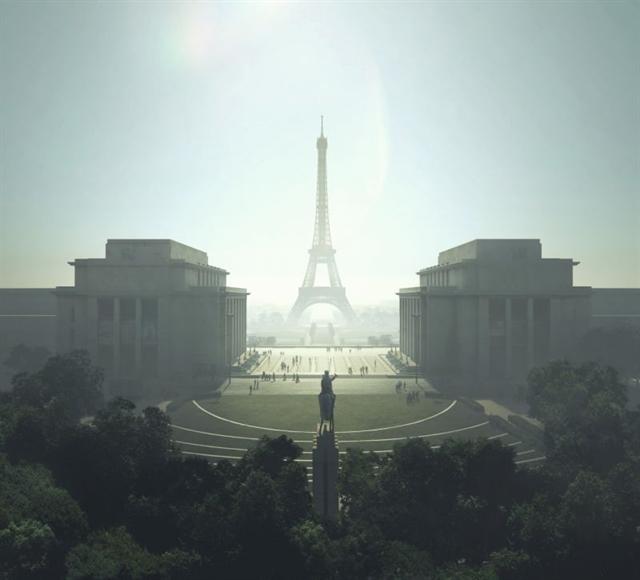 American picked to design vast car-free garden at Eiffel Tower