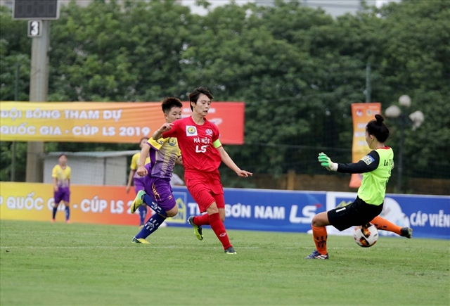 Hà Nội Hà Nam win first matches at womens National Cup