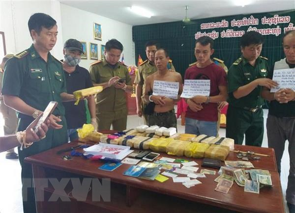 Three Lao citizens arrested for drug trafficking