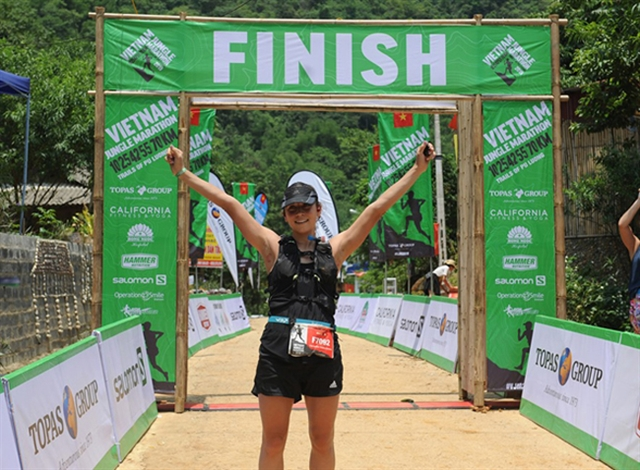 Hisashi Kitamura and Veronika Vadovicova win the Việt Nam Jungle Marathon