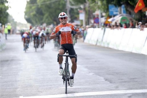Việt wins eighth stage of Return to the Countryside race