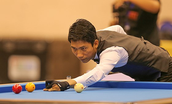 Nại bows out of Three-Cushion Carom Billiards World Cup