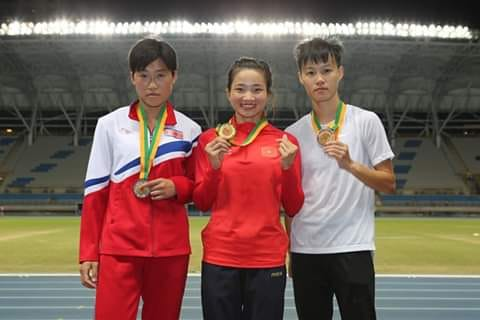 Vietnamese athletes win golds set records at Taiwan Open Athletics Championships 2019