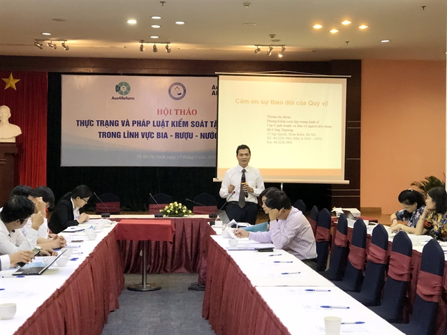 Seminar discusses decree on monopolistic on beer alcohol and beverage sector