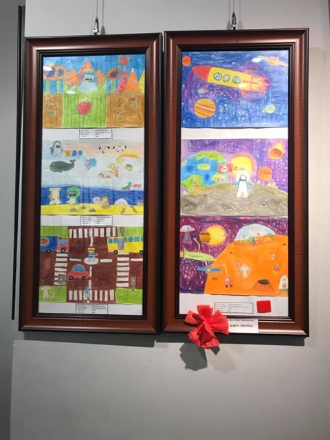 Painting exhibition celebrates Childrens Day