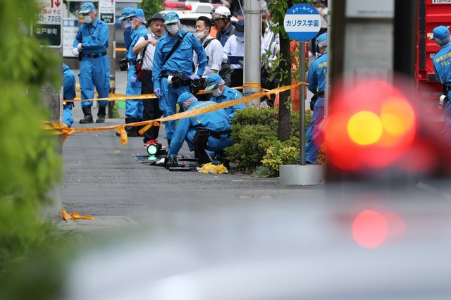 Child dead 17 hurt after Japan mass stabbing