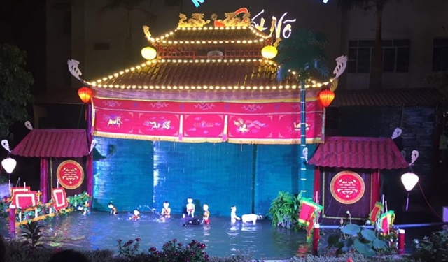 New state-owned troupe offers water puppet shows
