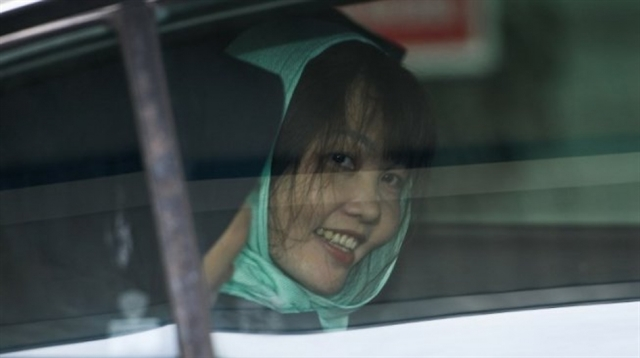 Vietnamese woman held in Malaysia for murder of N Korean man set free