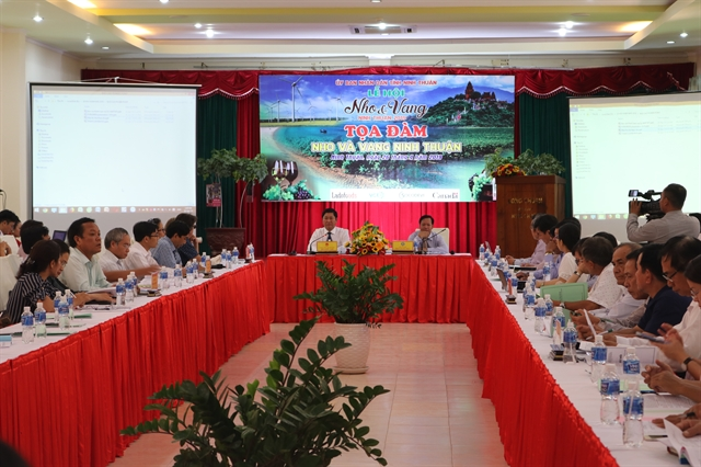 Ninh Thuận to link grape growing to sustainable practices