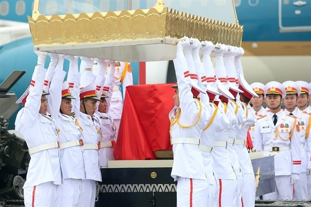 Domestic and international delegates pay homage to former President Lê Đức Anh
