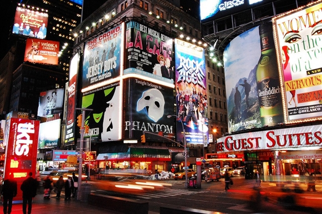 Broadway has record season as ticket revenues double in 10 years