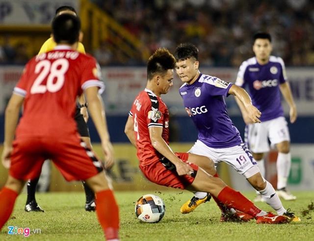 Hà Nội draw with Bình Dương in V.League 1
