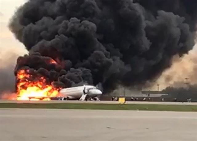 41 dead in Russian plane blaze disaster