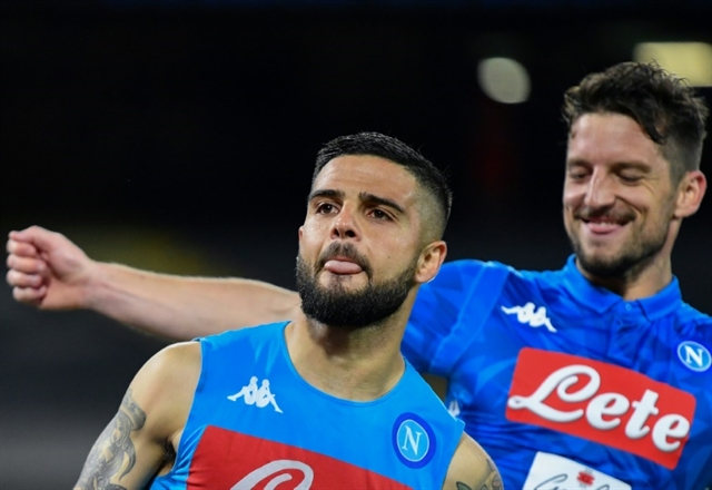 Insignes 98th-minute penalty seals second spot for Napoli in Serie A