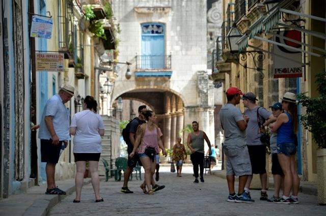 US visits to Cuba almost double despite Trump sanctions