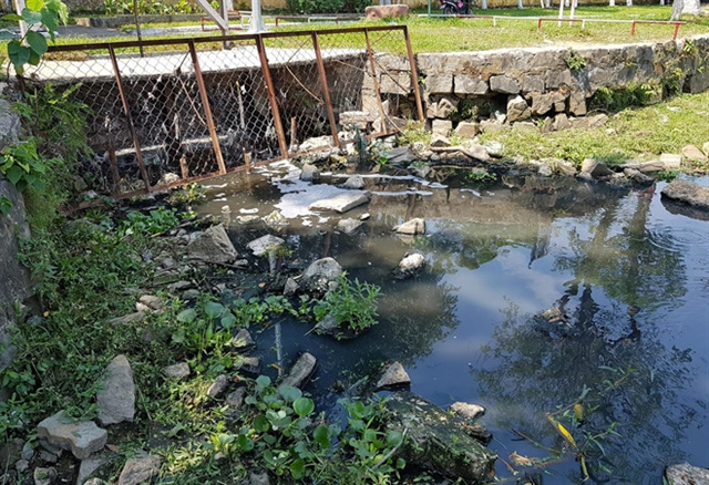 Đà Nẵng park polluted by untreated wastewater