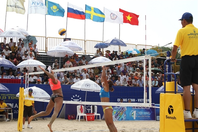 Beach volleyball tour to hit Quảng Ninh Province