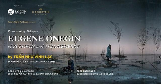 Screening of opera Eugene Onegin at C. Bechstein Showroom