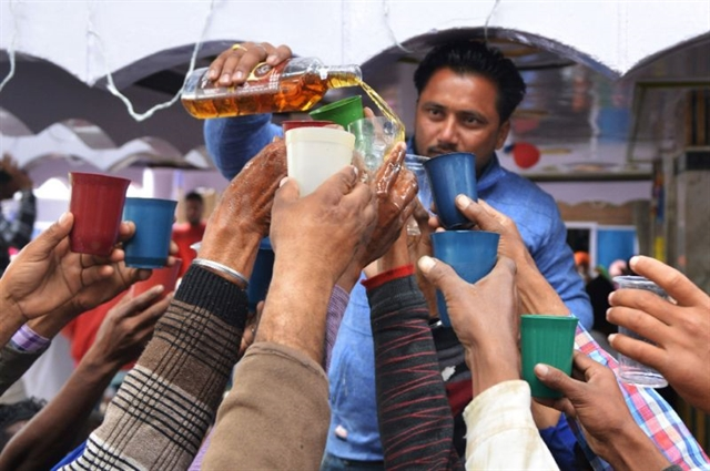 China India boost global booze binge: study