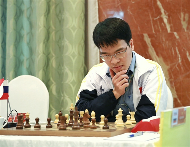 Liêm suffers loss in Chinese Chess League Division