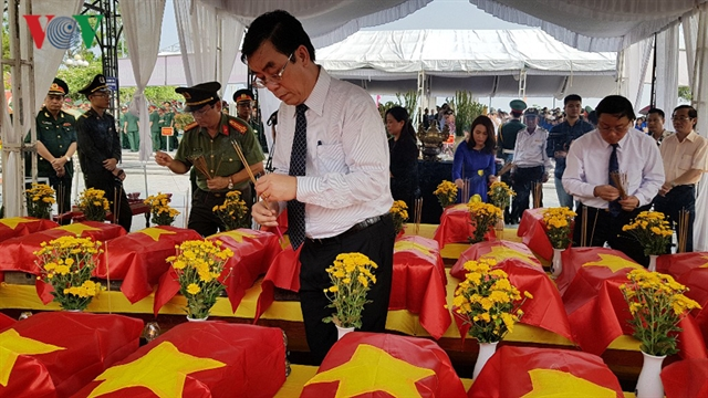 26 martyrs buried with full honours in Quảng Trị