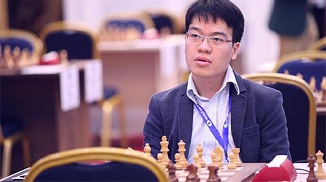 Liêm draws with Wang Hao in Chinese Chess League Division