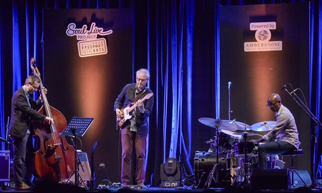 All music comes together in jazz says famed guitarist
