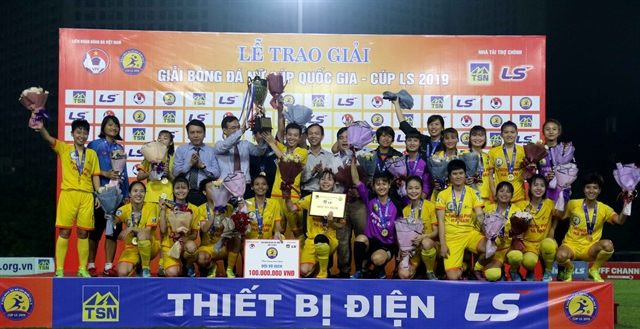 Hà Nam win first womens National Cup