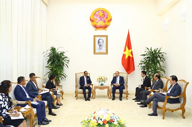 Prime Minister foreign minister hold talks with visiting Timor-Leste minister