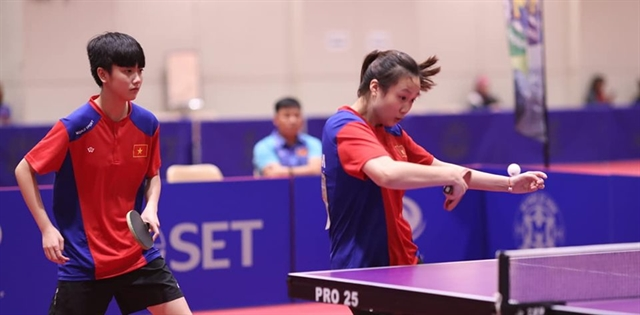 Young table tennis players take regional silver bronzes
