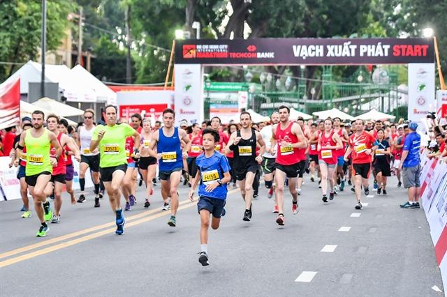 10000 runners to take part in Techcombank HCM City Intl marathon