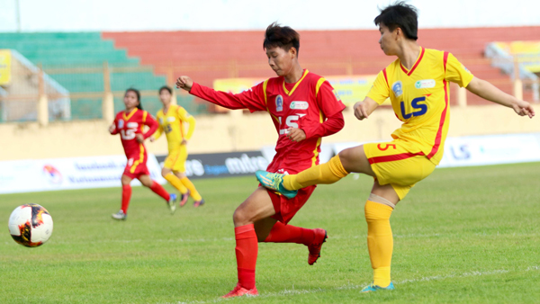HCM City 1 beat HCM City 2 at national football champs