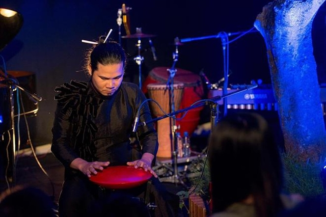 Top Vietnamese percussionist to perform the hang drums