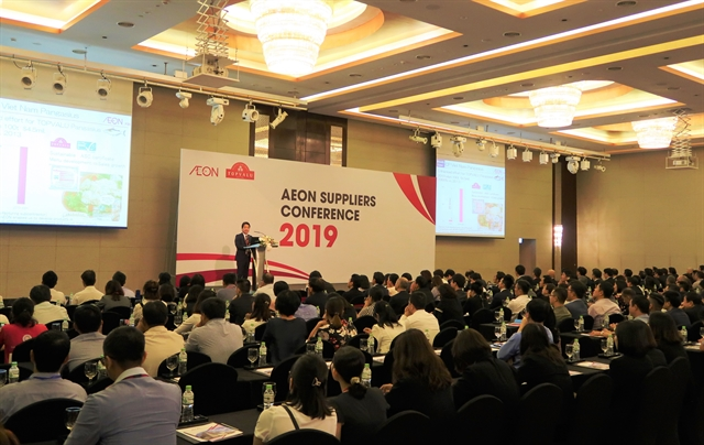 Firms seek opportunities at AEON supplier conference in Hà Nội