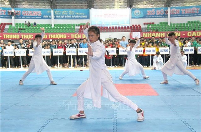 National Youth Vovinam Champs opens in Hậu Giang