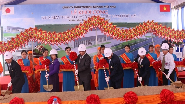 Work on 50m gypsum factory starts in Bà Rịa-Vũng Tàu