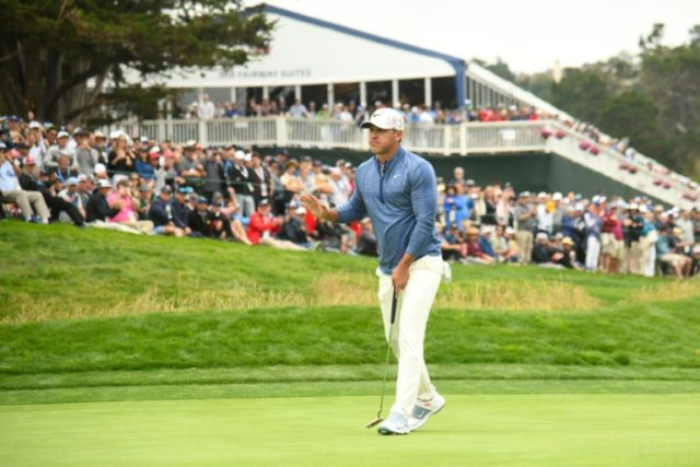 Four share early US Open lead as Koepka Woods chase