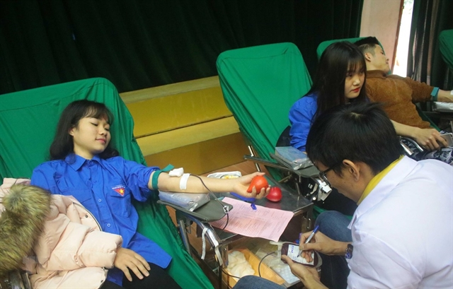 Blood donors needed to save more lives