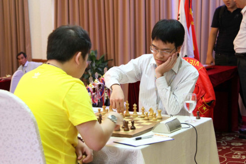 Wins for Liêm and Sơn at Asian chess champs